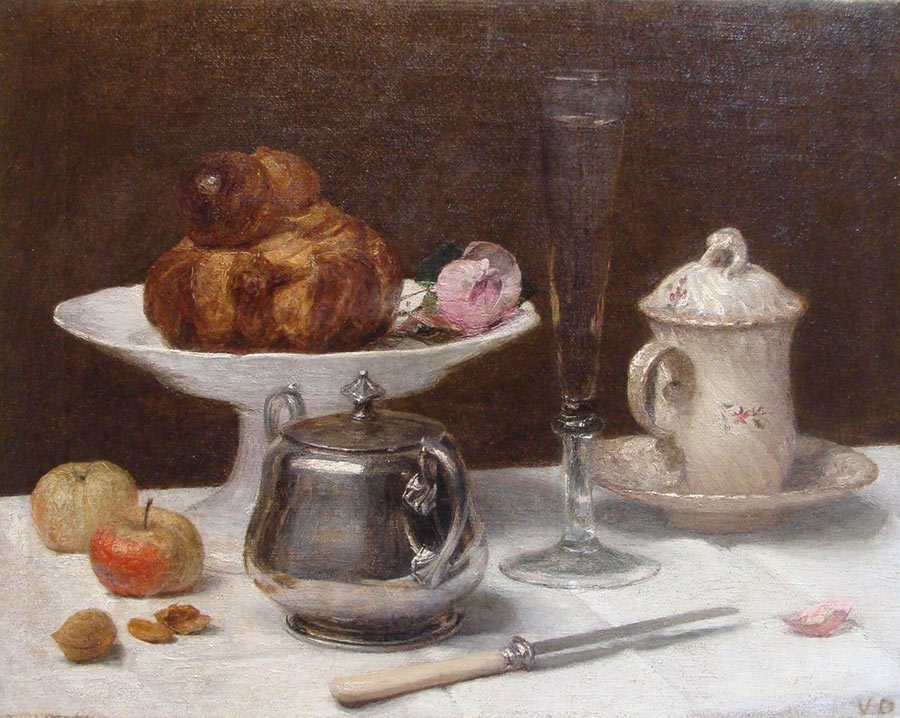 Victoria Fantin Latour Dubourg - coin du table - Liquid Sky Gallery -G