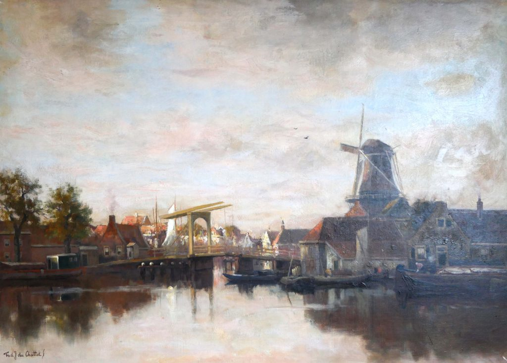 Frederik van Rossum du Chattel-Aan de vecht - k