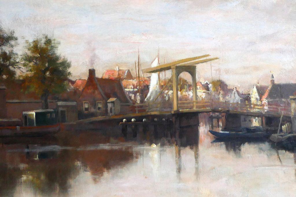 Frederik van Rossum du Chattel - Aan de vecht - Liquid Sky Gallery