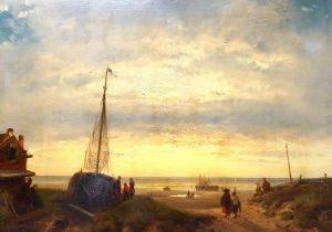 Charles Leickert - strand - tumb