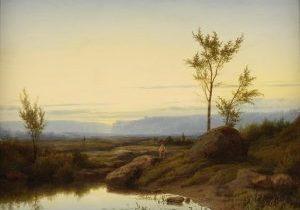 Cornelis.Lieste-zonsopkomst